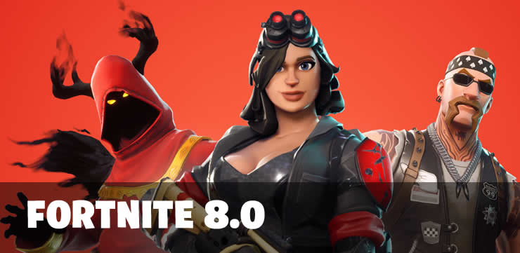 Fortnite Update 8.0