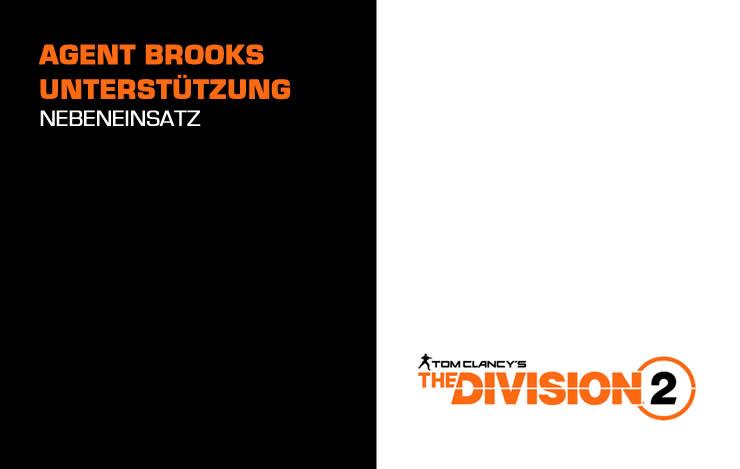 The Division 2: Agent Brooks Unterstützung – SHD Nebeneinsatz