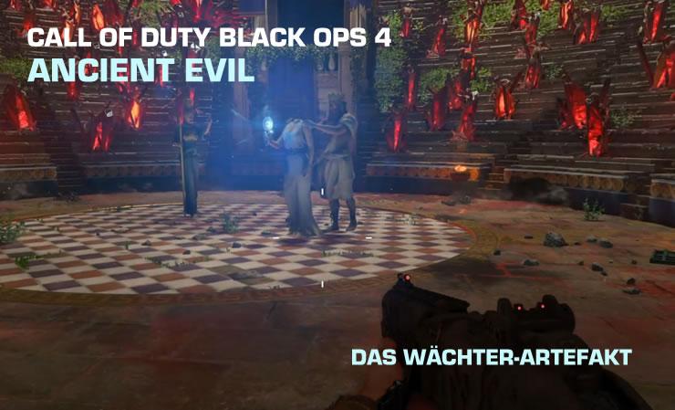 Black Ops 4 Ancient Evil: Wächter-Artefakt aktivieren
