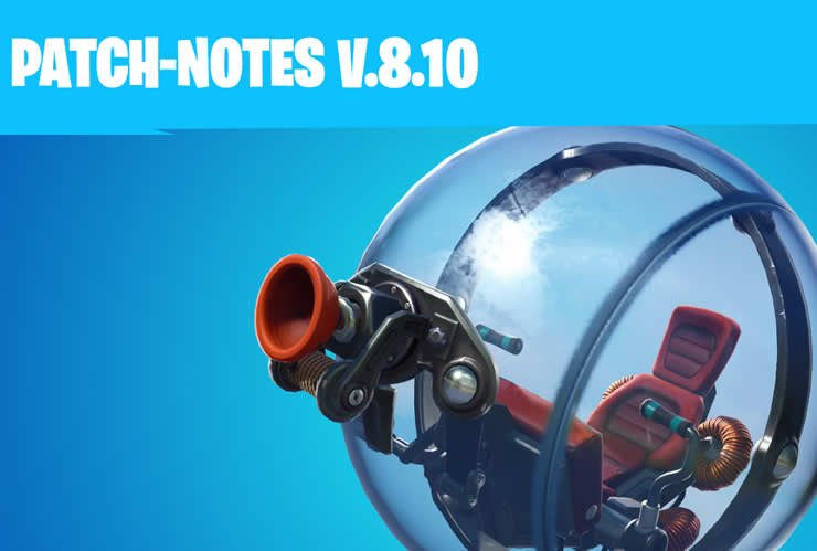 Fortnite Patch Notes 2.08 – Update 8.10 veröffentlicht