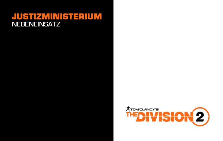 The Division 2: Justizministerium – Nebeneinsatz