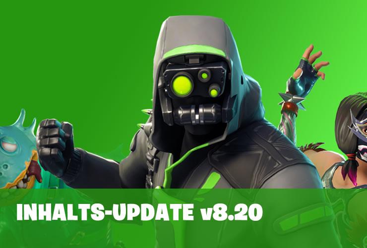 Fortnite 8.20 Inhalts-Update erscheint am 2. April – Explosiver Bogen