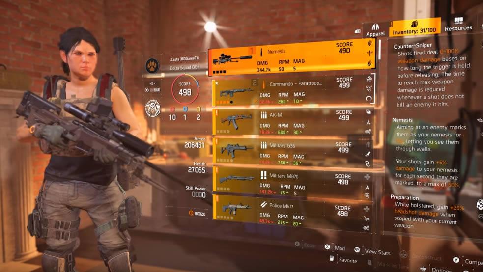 Nemesis Sniper Division 2