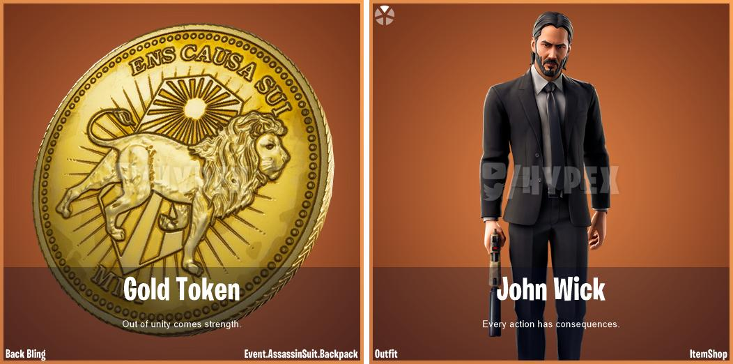 Fortnite's John Wick – Details zum Event …