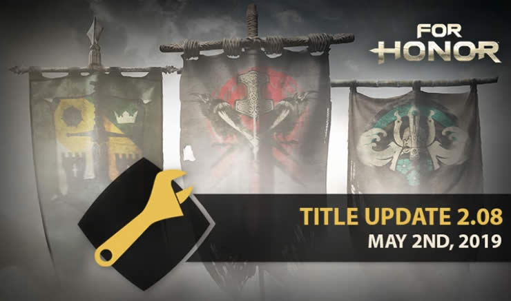For Honor Update Version 2.08 und 2.09 Patch Notes