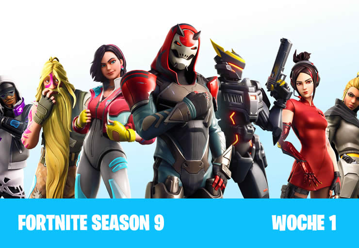 Fortnite: Himmelsplattformen Fundorte Guide – Season 9 Woche 1