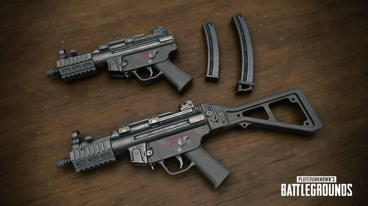 PUBG MP5K Patch Notes