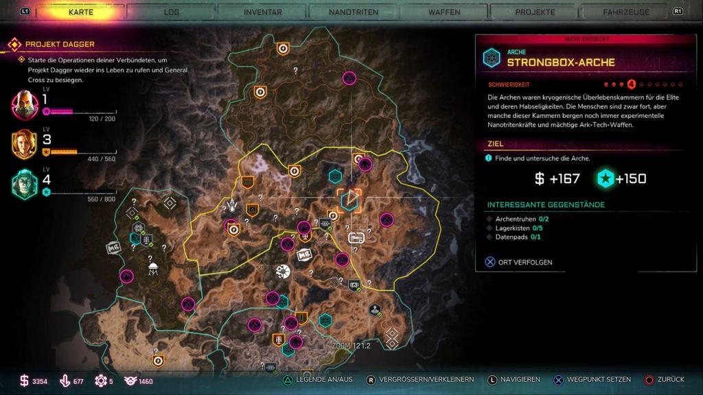 strongbox arche