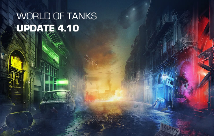 World of Tanks: Mercenaries Update 4.10 Patch Notes
