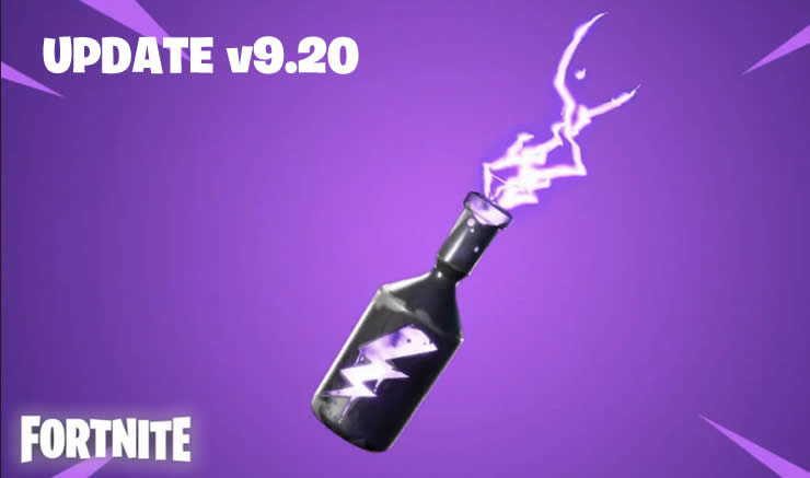 Fortnite Update 9.20 patch Notes