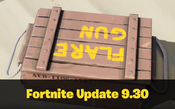 Fortnite Update 9.30 Angekündigt – Server Down am 18. Juni