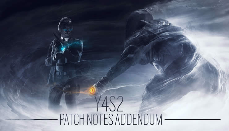 Rainbow Six Siege: Update Version 1.67 – Patch Notes Y4S2