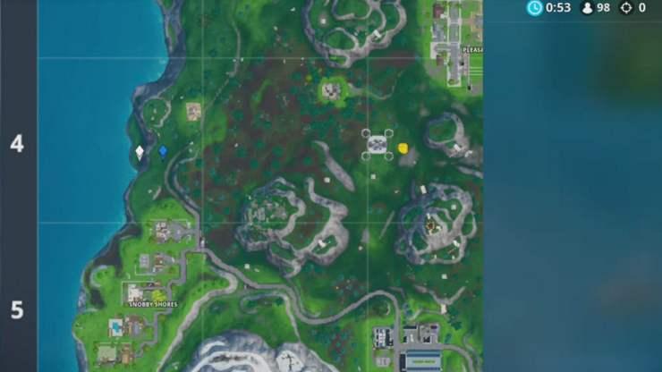 Fortbyte 27 Innerhalb Von Kartenposition A4 Fortnite Fundorte Guide