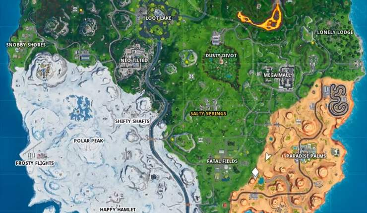Fortnite Fortbyte 40 Map Location