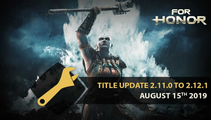 For Honor Update 2.12