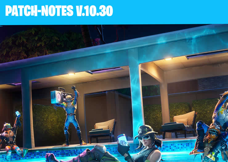Fortnite Patch 2.35