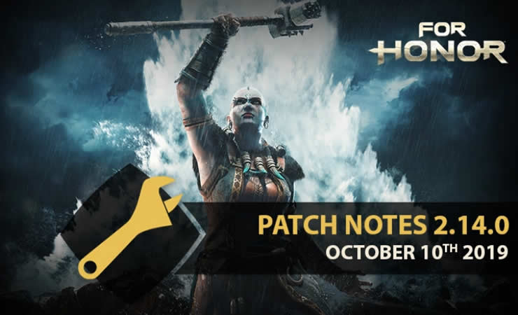 For Honor Update 2.14 Patch Notes vom 10. Oktober