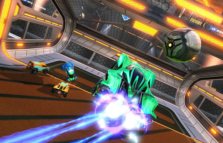 Rocket League Update Version 1.72 Patch Notes