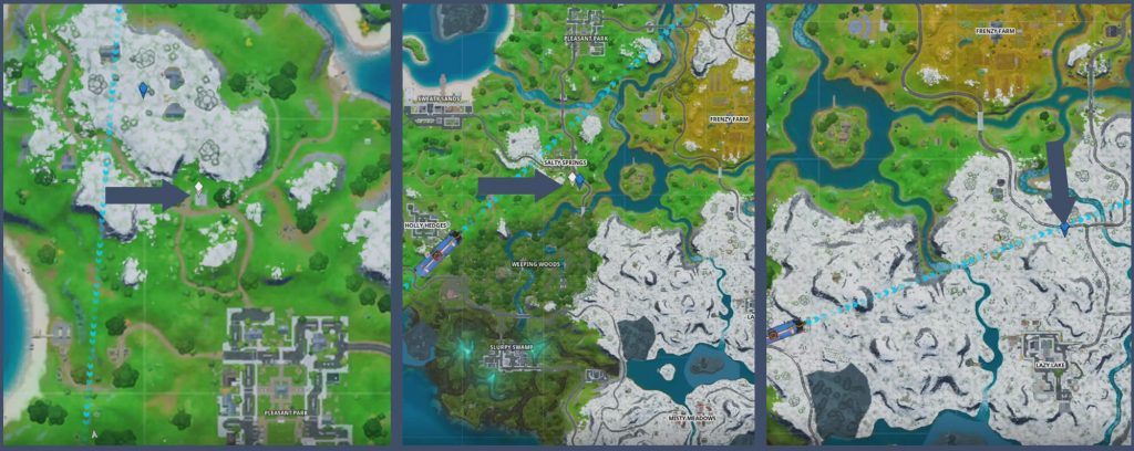 Fortnite Imbisswagen Map