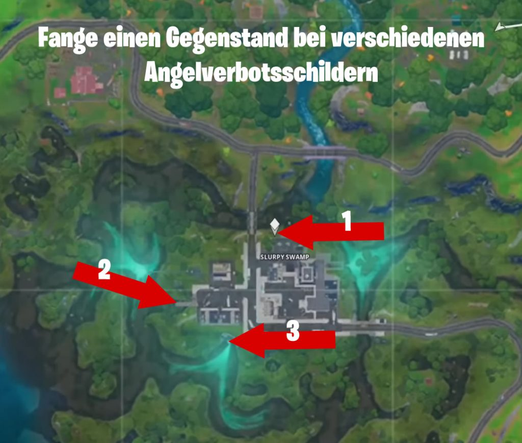 Fortnite Angeln Verboten