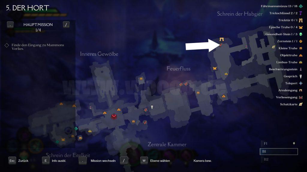 Darksiders Trickschlüssel Kapitel 5