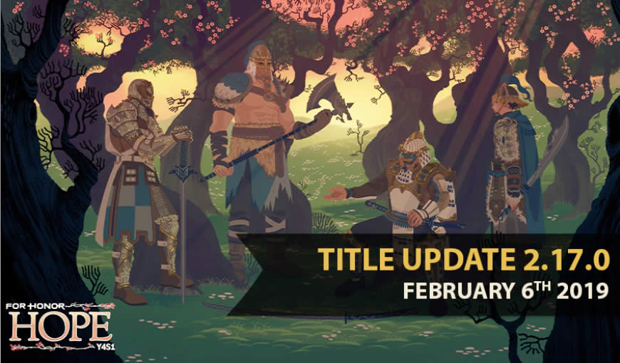 For Honor Update 2.17