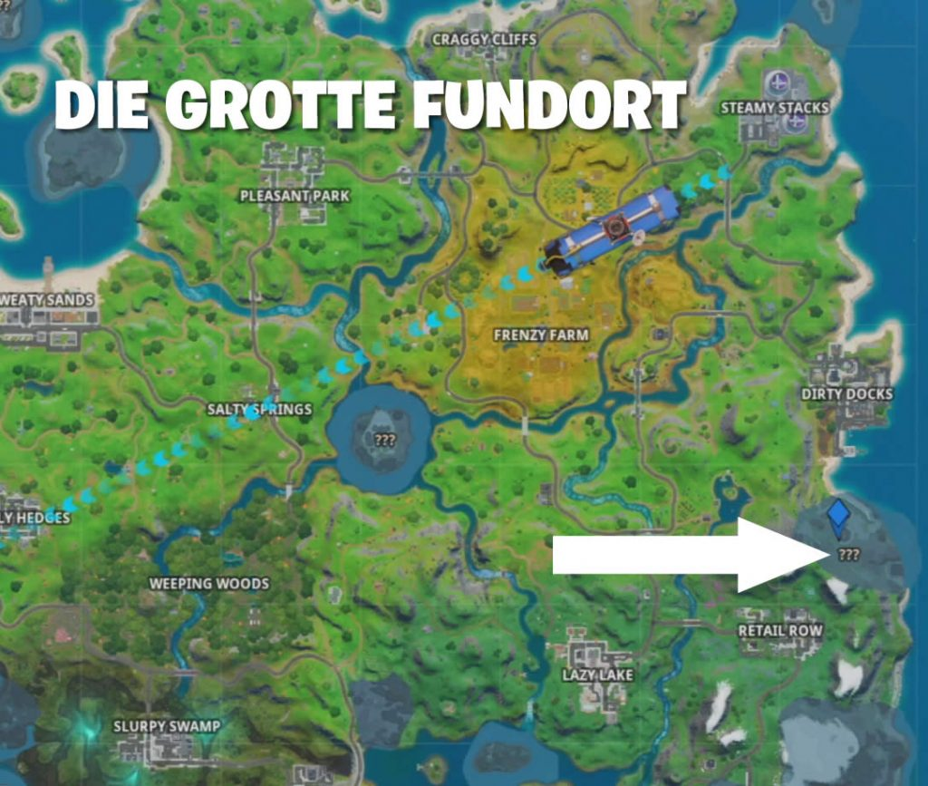 Fortnite Truhen Grotte