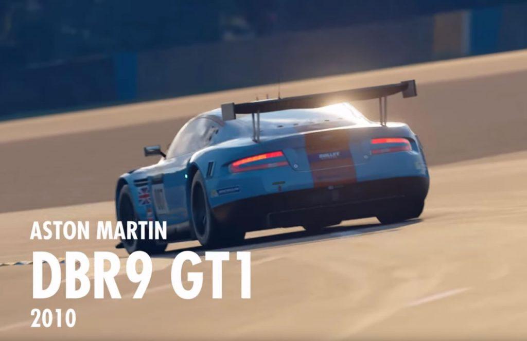 GT Sport Aston Martin DBR9