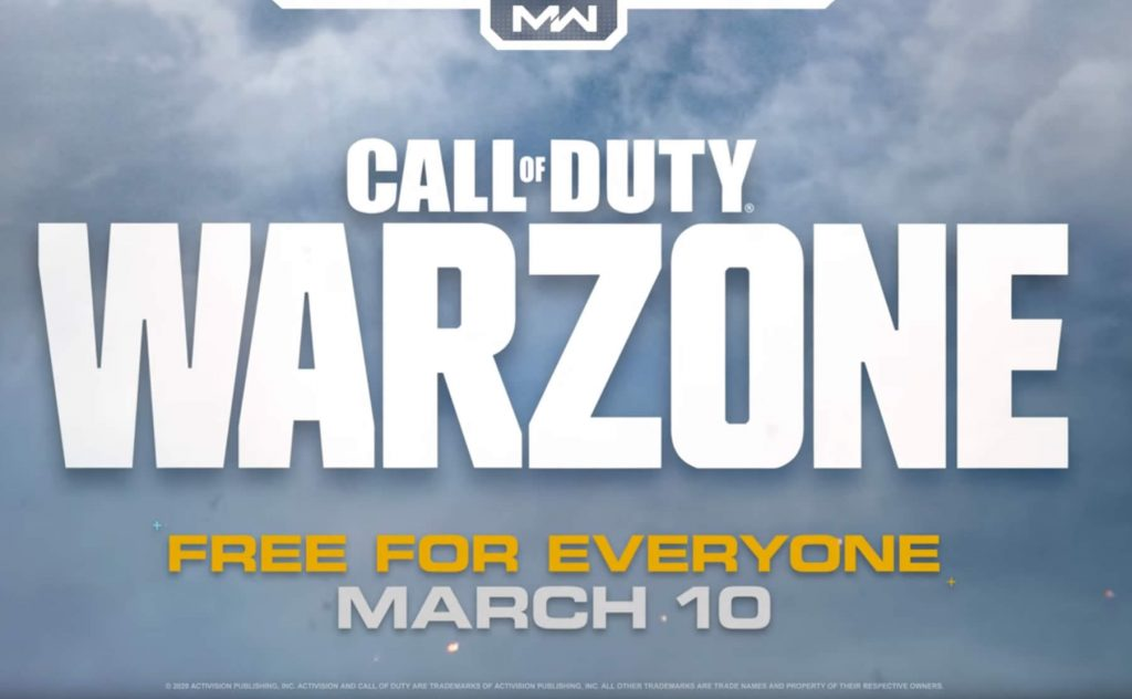 CoD Warzone Release