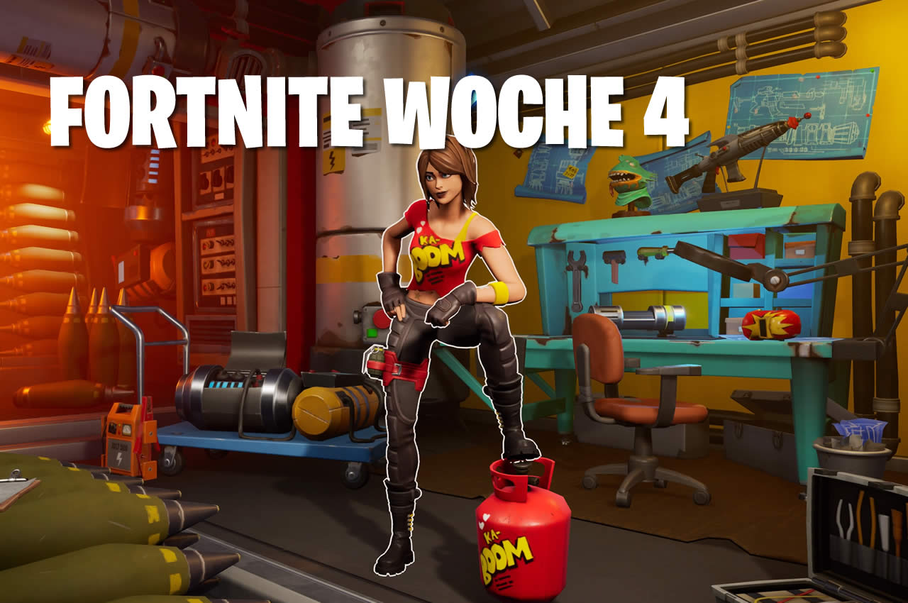 Fortnite – Alle TNTina's Test Herausforderungen in Woche 4 Season 2