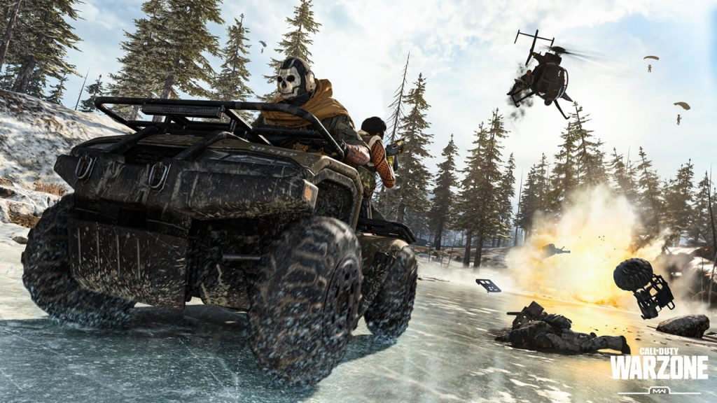 Warzone ATV Battle