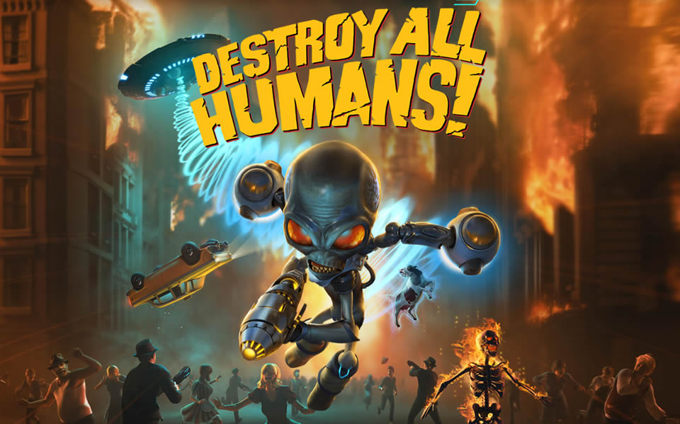 Destroy All Humans Pyrokinese Trophäen Anleitung
