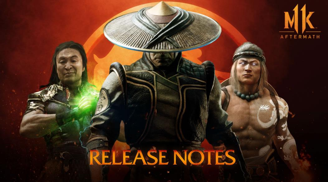 Mortal Kombat 11 Update 1.18 Patch Notes