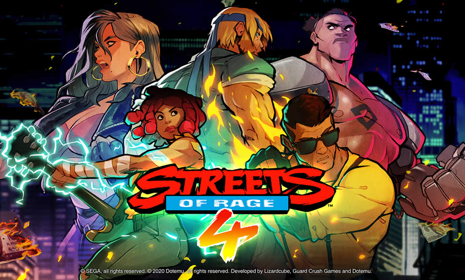 Streets of Rage 4 Retro-Level Fundorte – Rückblick Trophäe
