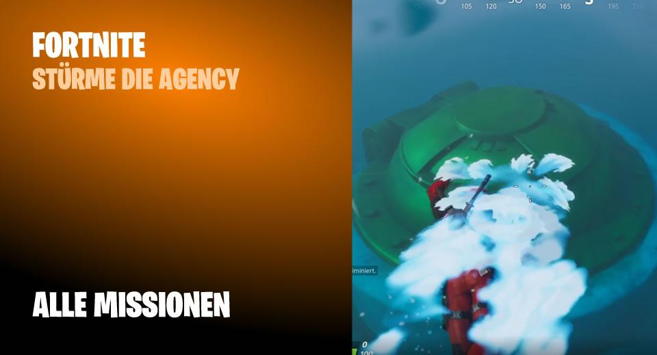 Stürme die Agency