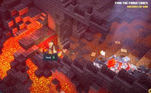Minecraft Dungeons Feuerschmiede Rune