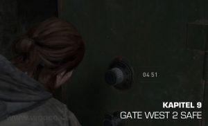Gate West 2 Safe Fundort