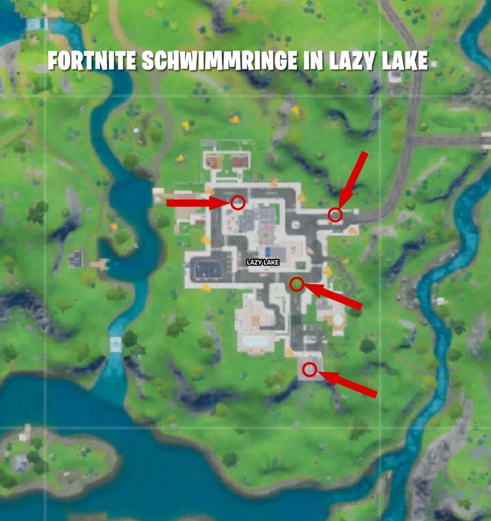 Fortnite Schwimmringe Lazy Lake
