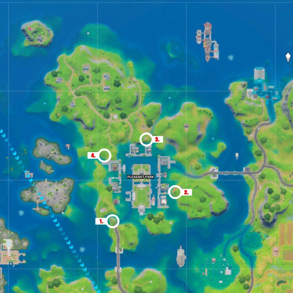 Ringe Pleasant Park Map