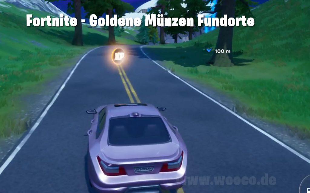 Goldene Münzen Fundorte Fortnite