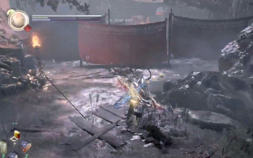 Nioh 2 Hot Springs Map