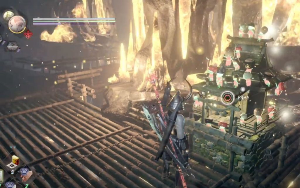 Nioh 2 DLC Hot Spring Map