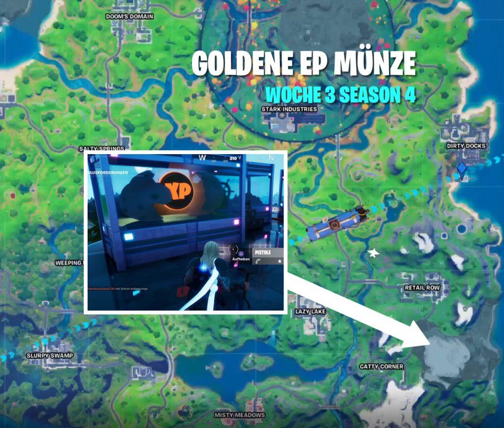 Goldene Münze Woche 3 Map