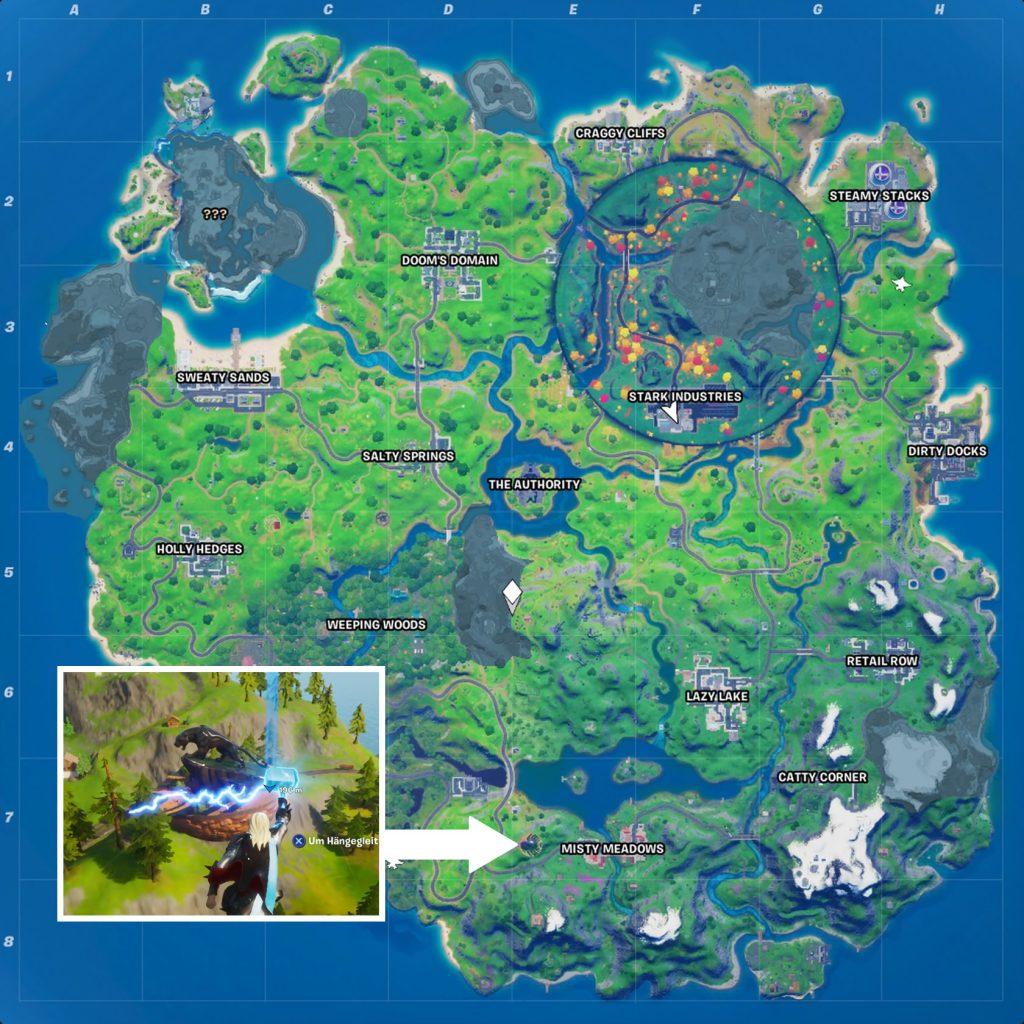 Fortnite Pantherpirsch Map