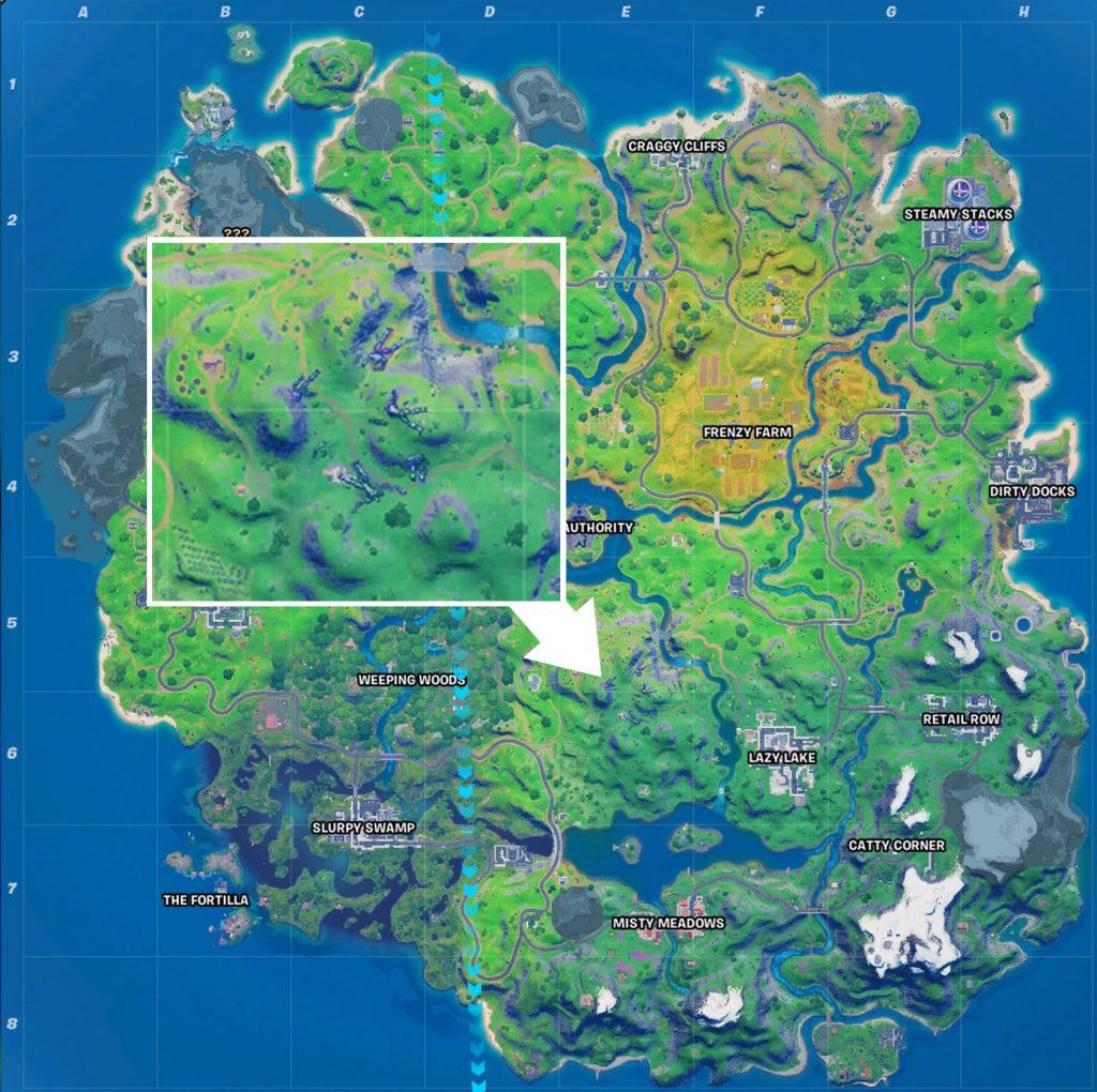 Sentinel Friedhof Map Fortnite