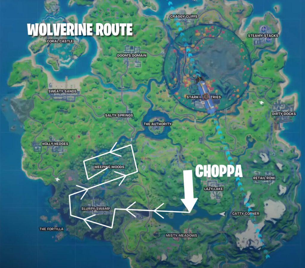 Wolverine Fundort Map