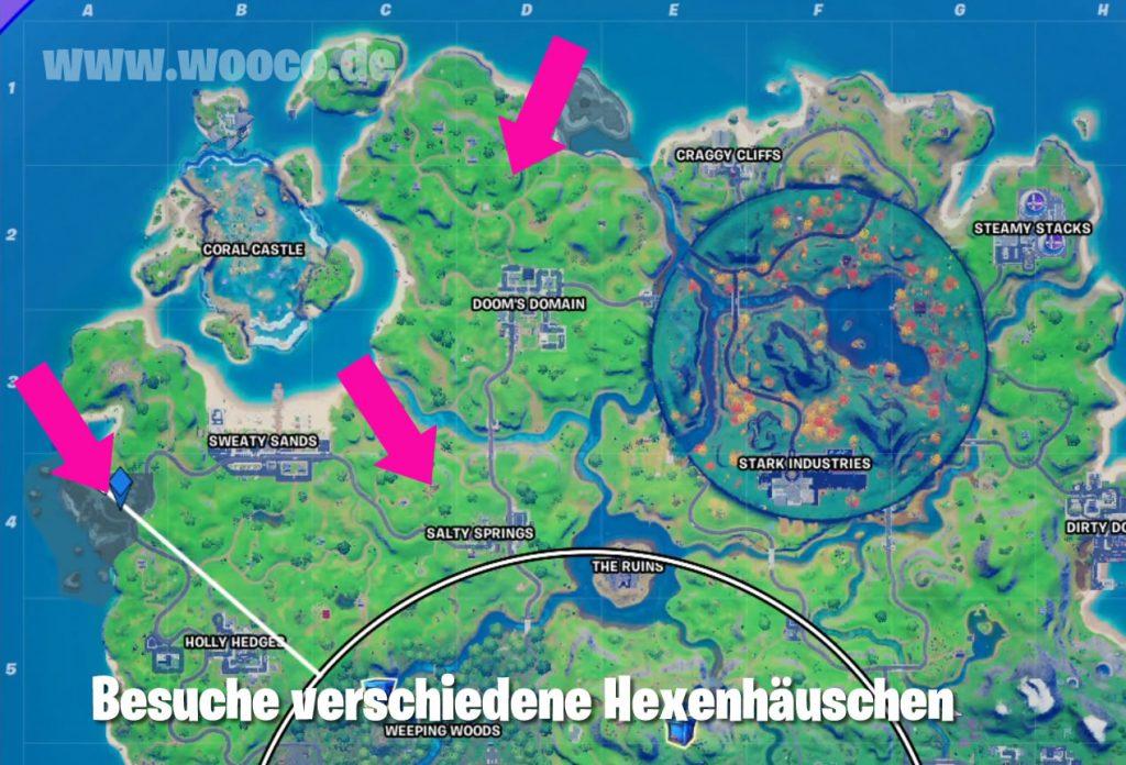 Fortnite Hexenhaus Map