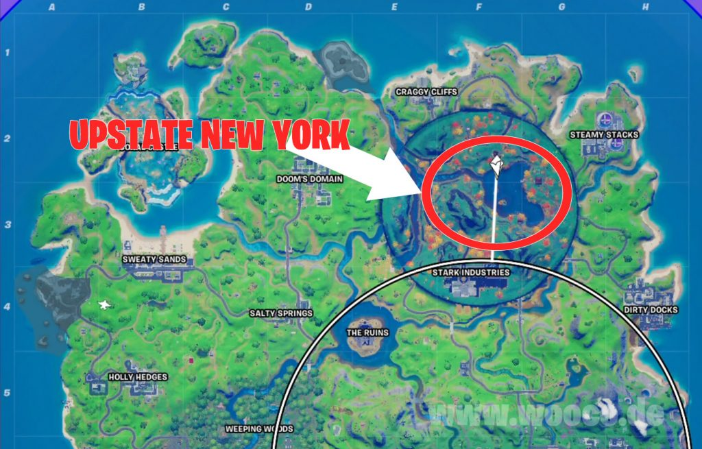 Fortnite Upstate New York Map