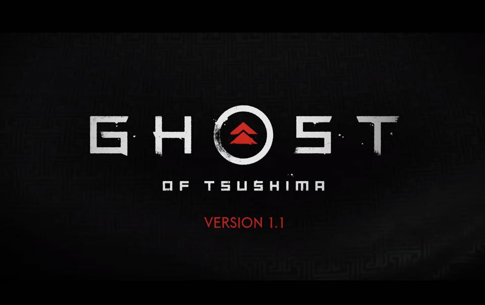 Ghost of Tsushima Version 1.1