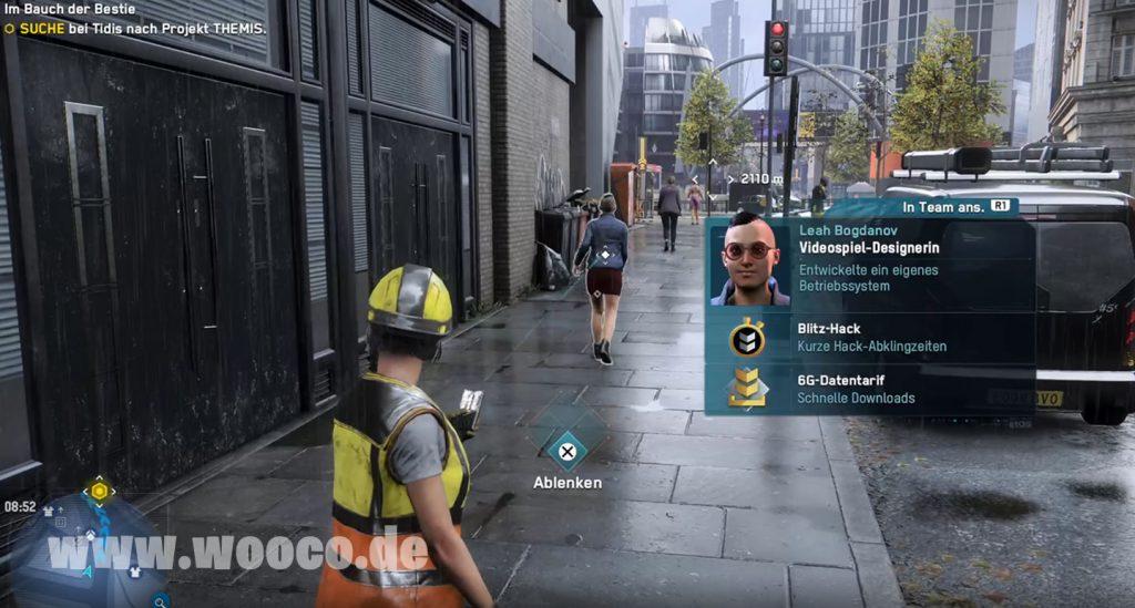 Videospiel-Designer Watch Dogs Legion